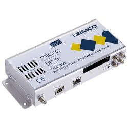 Lemco MLC-300 2 x DVB-S/S2/T/T2/C + 2 x FlexCAM para 4 x DVB-T/C + IP streaming