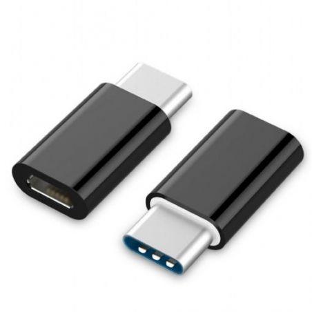 Adaptador USB Tipo C 3.1 macho a Micro USB hembra HDTeck