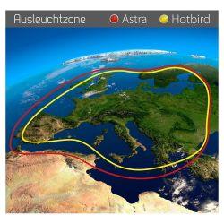 Selfsat Snipe 3 V3 GPS Antenne satellite entièrement automatique Skew Sat System Camping
