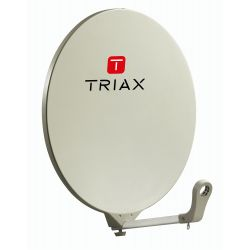 Antenne Satellite Triax DAP 610 RAL 1013 Blanc