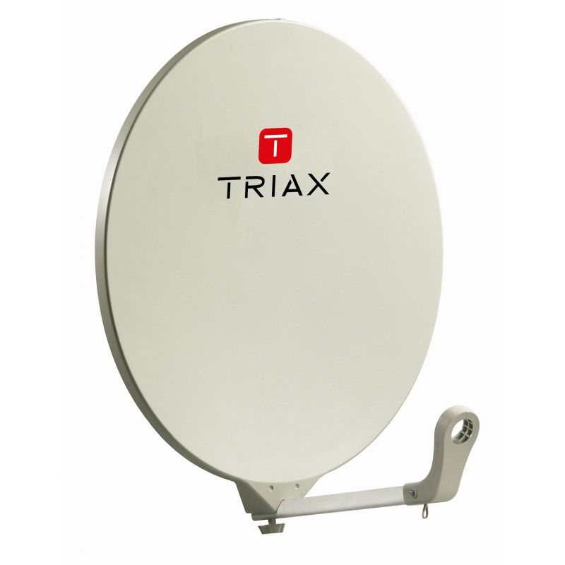 Triax DAP 710 Antena parabólica 70cm RAL 1013 Blanco
