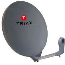 Triax DAP 711 Antenne Satellite 70cm RAL 7016 Gris anthracite