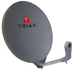 Triax DAP 711 Satellite dish 70cm RAL 7016 Anthracite grey