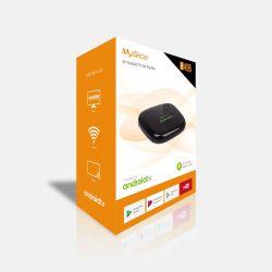 Mygica ATV495Max Android TV OS 4k Certificado do Google Widevine