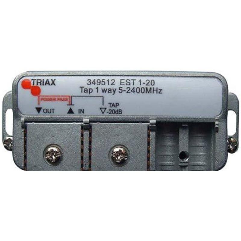 Derivador 1 salida (Conexión clema fácil) 10db EST 1-10