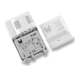 Alcad AI-233 Amplificateur intérieur 2 sorties CATV VR 65 MHz