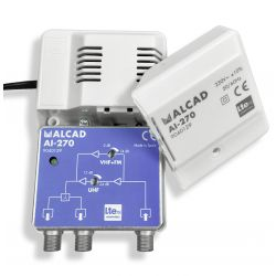 Alcal AI-270 Indoor Amplifier 2 Outputs LTE700