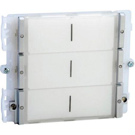 Comelit 33436 Módulo de 6 pulsadores placa IKALL Sistema Simplebus