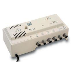 Alcad AI-414 Amplificador interno TV + FI 4 Saídas P.C