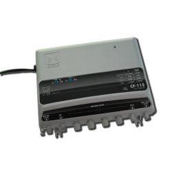 Alcad CF-115 Ligne d'amplificateur UHF/VHF/BS-VR 5-65MHz