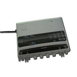Alcad CF-716 Amplificateur de ligne FI-UHF/VHF/BS-VR 5-65MHz