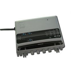 Alcad CF-716Line amplifier FI-UHF/VHF/BS-VR 5-65MHz