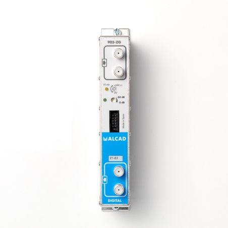Alcad ZG-412 Amplificador bicanal UHF, G 53 dB