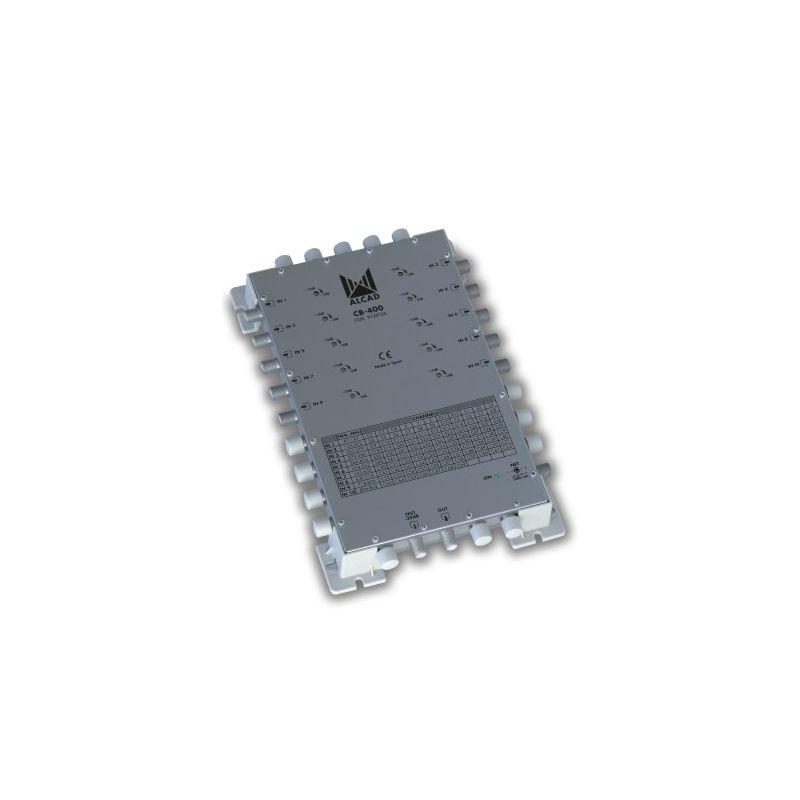 Alcad CB-400 Amplificador combinador 10 entradas