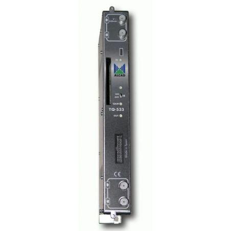 Alcad TQ-533 Transmod dvb s2-qam proceso ts ci