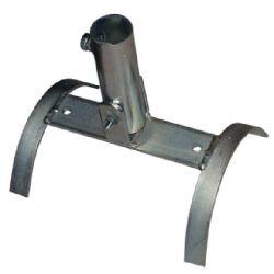 Ikusi BBT-100 Base basculante teja para mástiles de 30-35 mm Ø