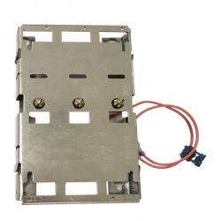 Ikusi BAS-913 Base soporte 3 unidades con adapt. corriente (contactos alimentación.)