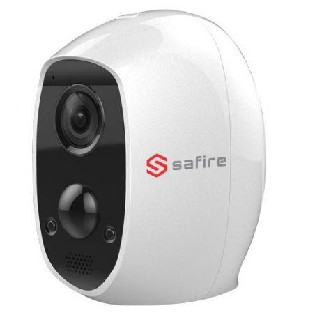 Safire SF-IPCU003-BAT-2W - Cámara IP Safire Wifi a batería, Detector PIR real,…