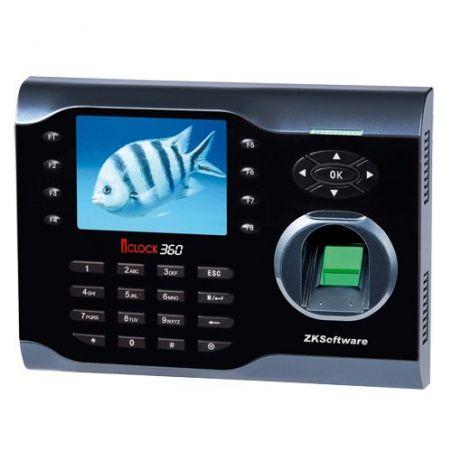 Zkteco ZK-ICLOCK360 - Contrôle de Présence, Empreintes, Carte EM RFID et…