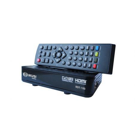 Ikusi RDT-100 Receptor terrestre DVB-T/T2. MPEG4 H.264HDMI