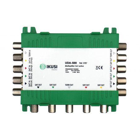 Ikusi UDA-500  Active splitter 5 inputs 10 outputs