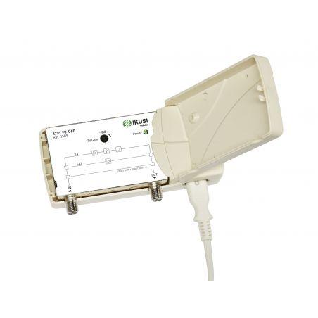 Ikusi ATP-190-C60 Amplifier 1 input 1 output terrestrial/satellite 47-790 MHz