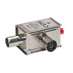 Ikusi AV-020 Atténuateur variable. 0-20 dB VHF-UHF. 9,5 mm Ø
