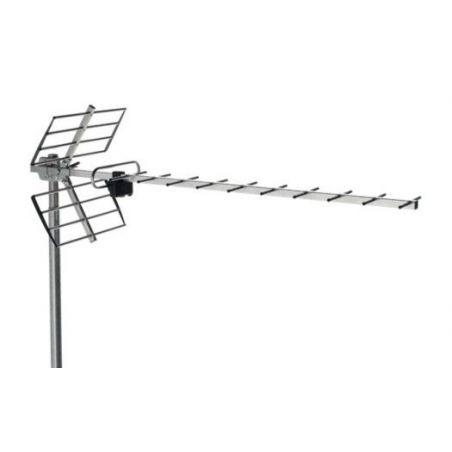 Alcad BU-116 Antena uhf, canales 21/60, 13 db
