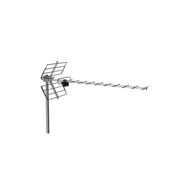 Alcad BU-118 Antena uhf, canales 21/60 rech, 13db