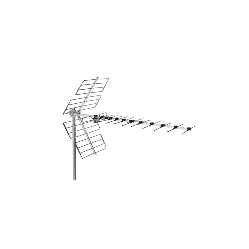 Alcad BU-457 Antena uhf, canales 21/48, 14 db