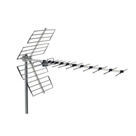 Alcad BU-458 Antena uhf, canales 21/60 rech, 14db
