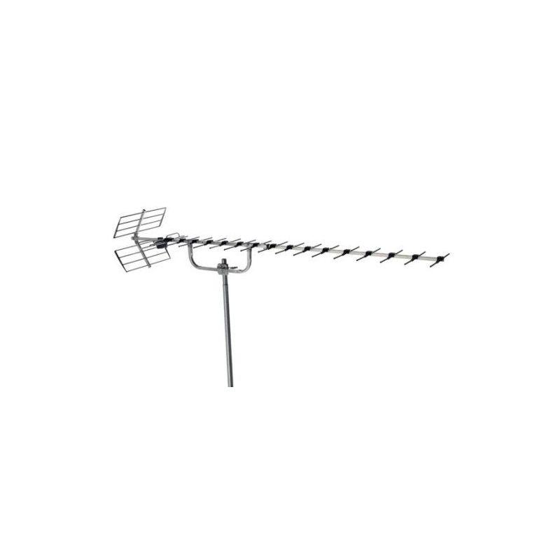 Alcad BU-566 Antena uhf, canales 21/60, 16 db