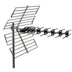 Alcad MX-046 Antena uhf mx, canales 21/60, 15 db