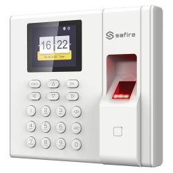 Safire SF-AC3002KEMD-IP-BAT - Control de Presencia, Huellas, Tarjeta EM y Teclado,…