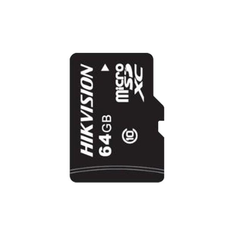 Hikvision HS-TF-L2I-64G - Tarjeta de memoria Hikvision, Capacidad 64 GB, Clase…