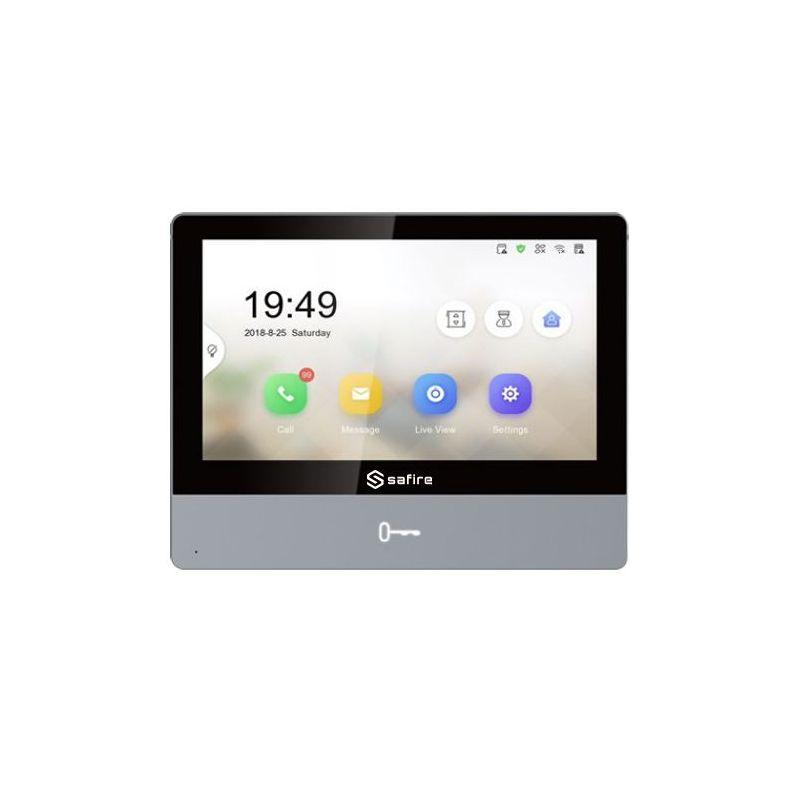 """Safire SF-VIDISP02-7WIP - Monitor para Videoporteiro, Ecrã TFT IPS de 7\"""",…"""
