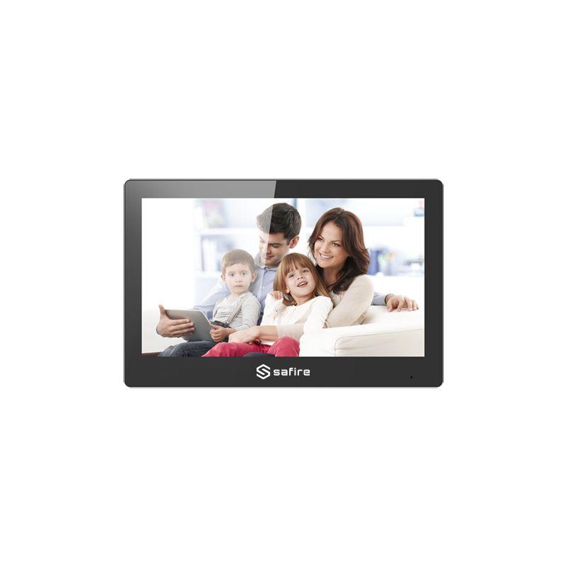 "Safire SF-VIDISP01-10WIP - Monitor para Videoportero, Pantalla TFT de 10.1\"",…"