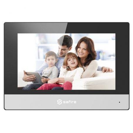 "Safire SF-VIDISP01-7WIP - Monitor para Videoporteiro, Visor TFT de 7\"", Áudio…"
