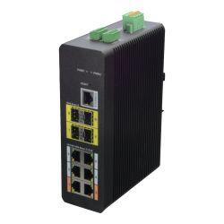X-Security XS-SWI1006H-M120 - Switch HiPoE X-Security, 6 puertos PoE (RJ45) + 4…