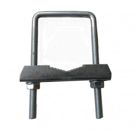 Horquilla cuadrada ancho especial hasta 64mm interior M8 122x2x76 R103