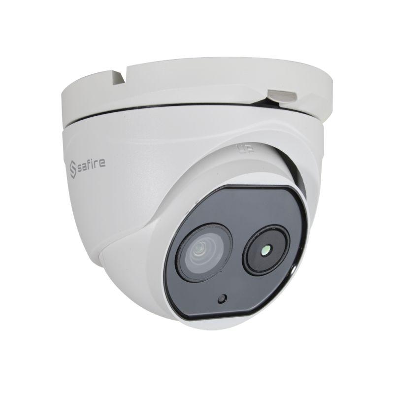 Safire SF-IPTDM011DHA-6D2 - Safire Dual IP thermal camera, 160x120 VOx | 6mm Lens,…