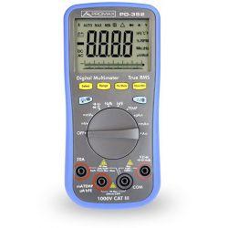 Multímetro Digital RMS 4 dig Automático. C, F, Transistores, Temp. Promax