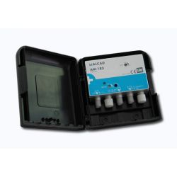 Alcad AM-183 Amp uhf+biii/fm 24 db lte700 mat 12 vdc