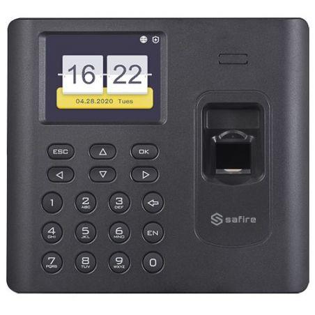 Safire SF-AC3012KEMD-IPW-B - Control de Presencia, Huellas, Tarjeta EM y Teclado,…