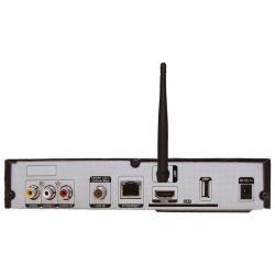 Receptor de satélite IRIS 9850 HD FULL HD, H.265, Wifi, PVR