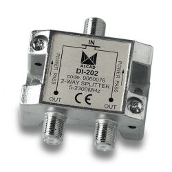 Alcad DI-202 If splitter 2 out with dc path