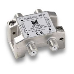Alcad DI-302 If splitter 3 out with dc path