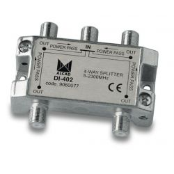 Alcad DI-402 If splitter 4 out with dc path