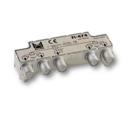 Alcad FI-474 If splitter 4 out with dc path