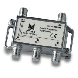 Alcad PT-310 If user acces point, if splitter 3 out